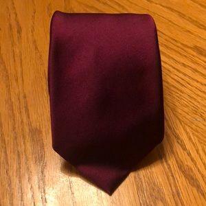Robert Talbott Silk Tie Best Of Solid Dark Red